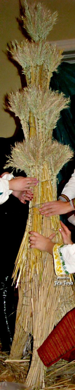 Ta Tosh Ukrainian folk tradition straw amulet