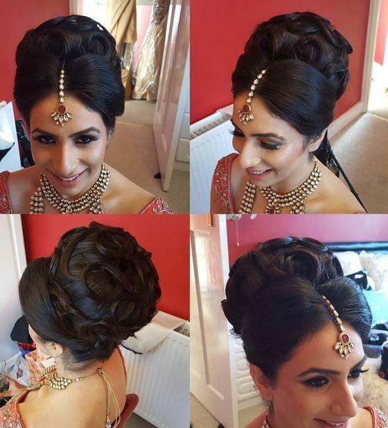 Best 25 Indian Wedding Hairstyles Ideas On Pinterest: 25+ Best Ideas About Indian Bridal Hairstyles On Pinterest