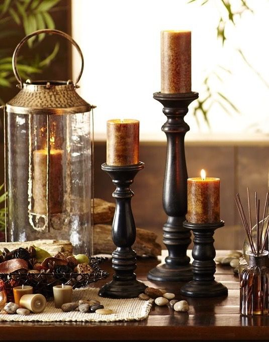 17 best images about candle holders on pinterest floor for Oxford turned wood candle holders