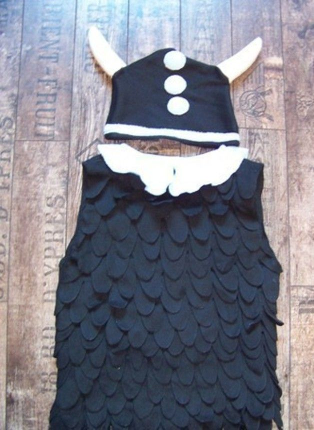 Kostüme für Kinder - Wickie-Kinderkostüm - ein Designerstück von sunnysue30 bei DaWanda