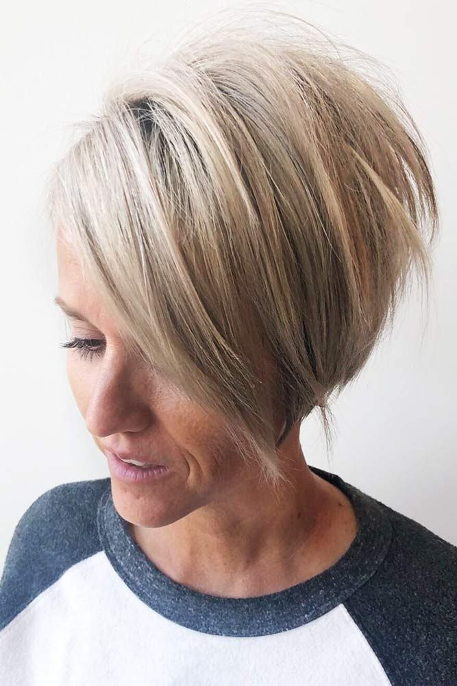 80 Stylish Short Hairstyles For Women Over 50 Lovehairstyles Com Pixie Bob Haircut Bobs Haircuts Short Hair Styles