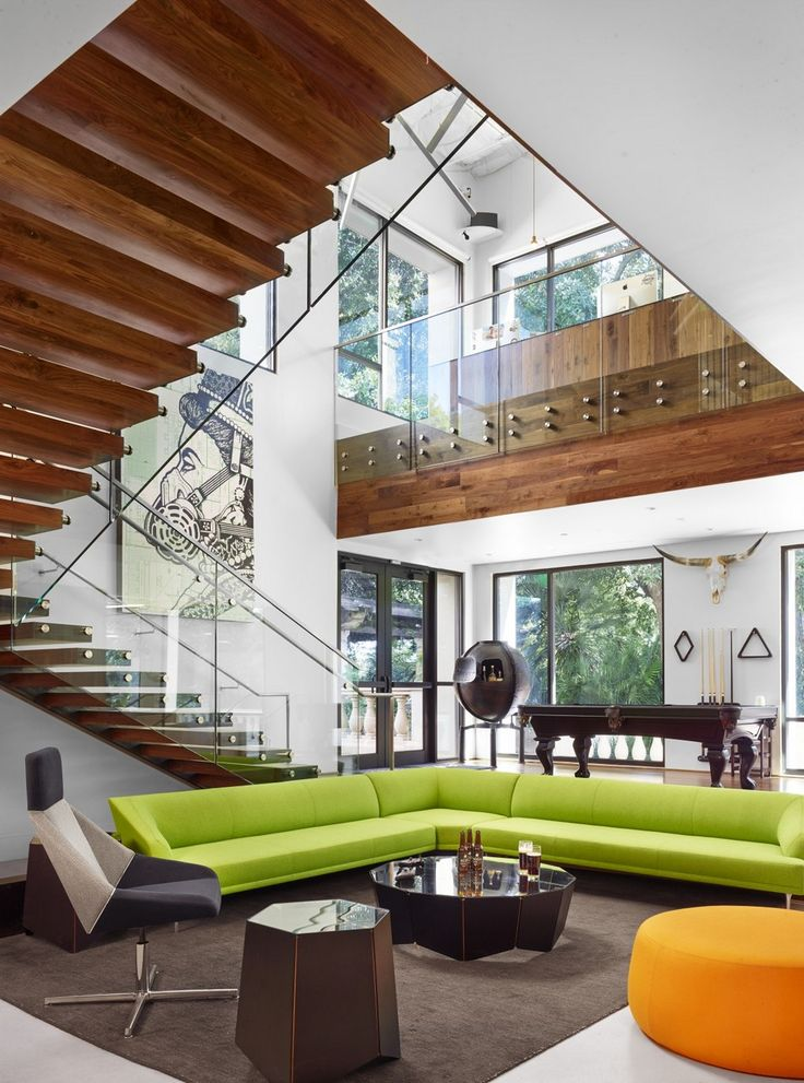 Jovial Office Building Design in Texas Complete With Two-Story Adult Slide - http://www.interiordesign2014.com/interior-design-ideas/jovial-office-building-design-in-texas-complete-with-two-story-adult-slide/