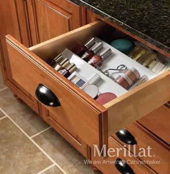Base Drawer Insert   Classic™ Accessories   Merillat® Cabinetry. A Drawer  Insert Enables
