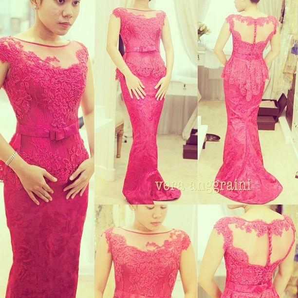 Pretty pink dress!