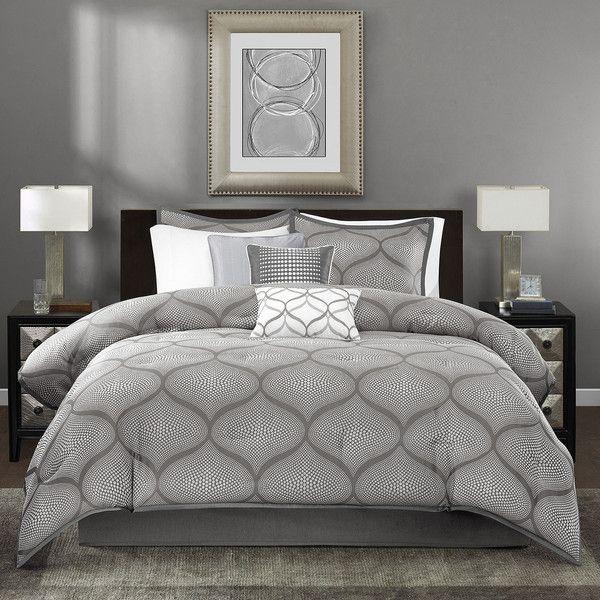 Bedroom Sets Gray Bedroom Furniture King Size Bed Bed Placement In Bedroom Vastu Bedroom Binding Of Isaac: Best 25+ Grey Comforter Queen Ideas On Pinterest