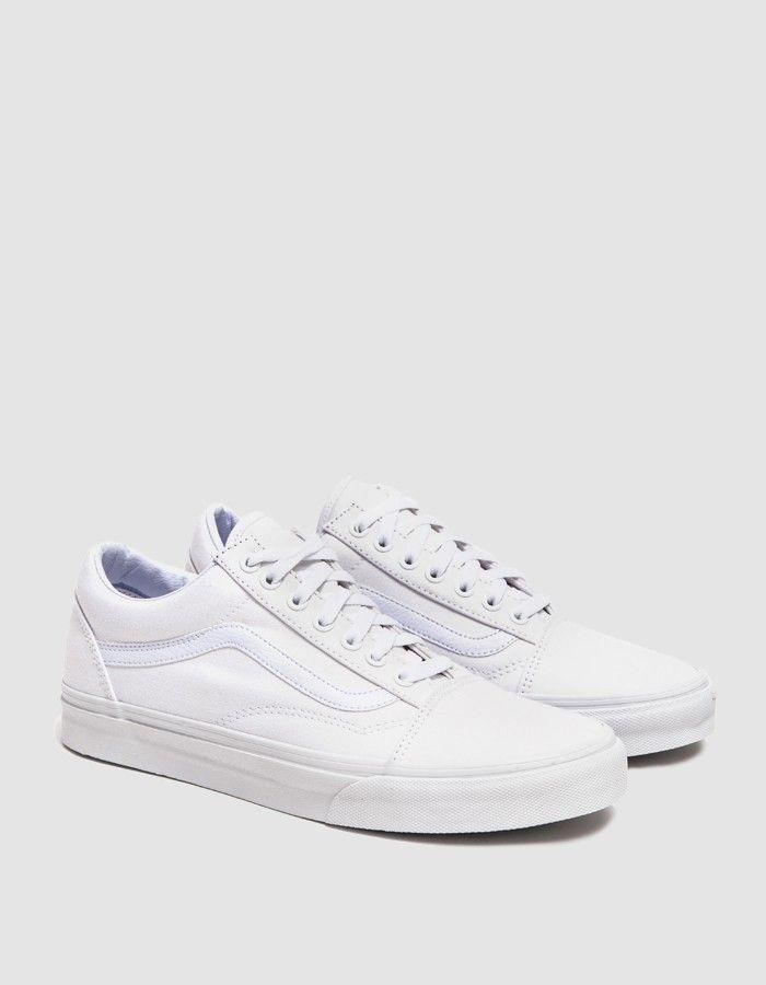 Vans Old Skool Sneaker in True White