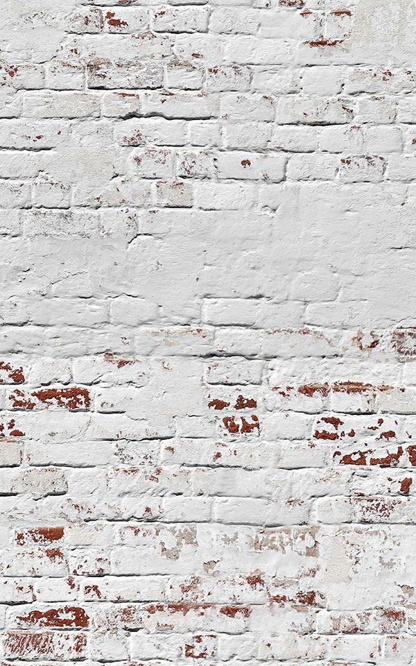 Papier Peint Mur D Entrepôt De Briques Blanches Murals Wallpaper In 2021 Brick Wallpaper Mural Brick Wallpaper Brick Wallpaper Iphone