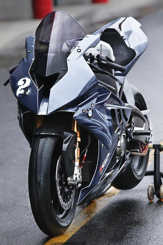 BMW S1000RR race bike