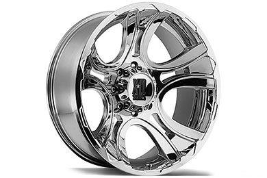 XD 801 Crank Chrome Truck Wheels - Best Price on KMC Wheels - XD Series Crank Chrome Rims