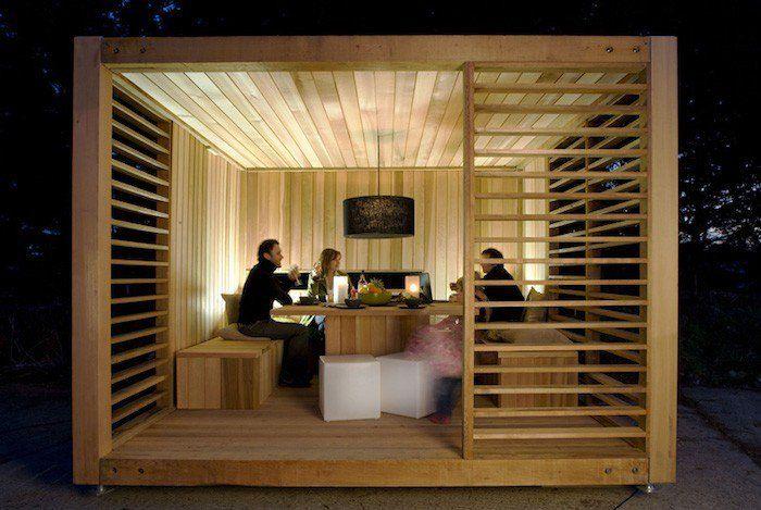 abris de jardin en bois design simple et design