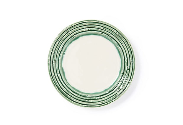 Set of 4 Bamboo Dinner PlatesMicrowave Safe, Bamboo Dinner, Dinner Plates,  Nematodes Worms,  Roundworm, Tops Products, Tropical Housewares, Microwave Ceramics, S 4 Bamboo