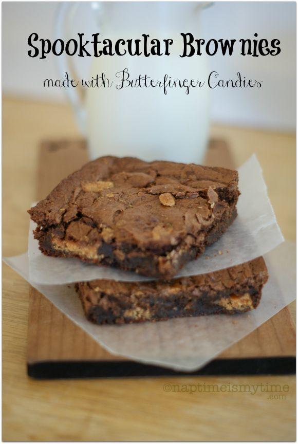 #TrickUrTreat Butterfinger Brownies #shop #cbias
