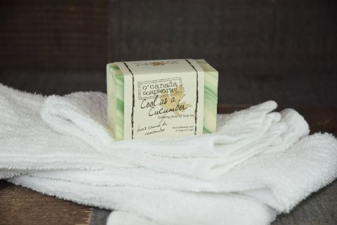 Hydrating facial and body bar loaded with goats milk and aloe vera!