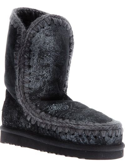 MOU 'Eskimo' Black Boot www.stockholmmarket.com