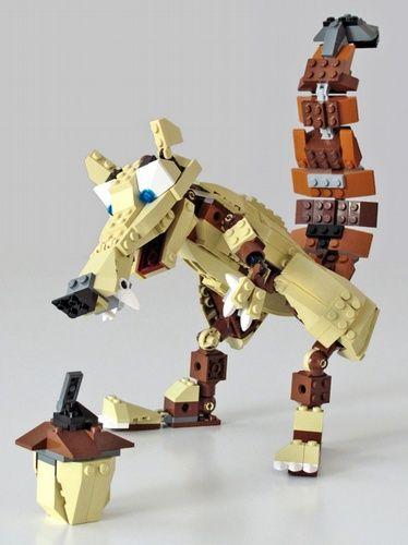 Lego Ice Age Scrat The Squirrel Lego Pinterest The