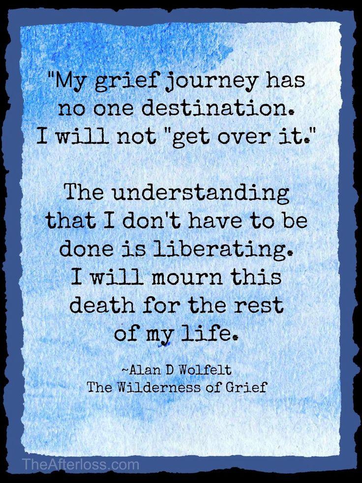 My journey, My grief