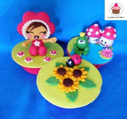 Spring Cupcakes  Cake by Le Cupcakes della Marina