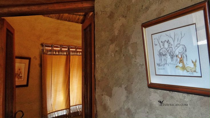 The #Chalets at #BushmansBaobabs are tastefully decorated and fit in with the environment (the #AfricanWild) all around. #Liwonde #Malawi. I blogged on whether you should rush off our on #safari or take time to settle in when you arrive.