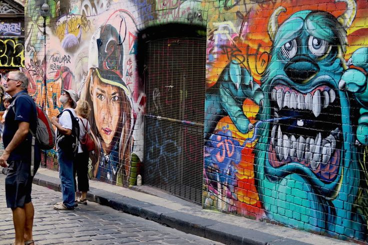 Hosier Lane, Melbourne - on a CBD walking tour