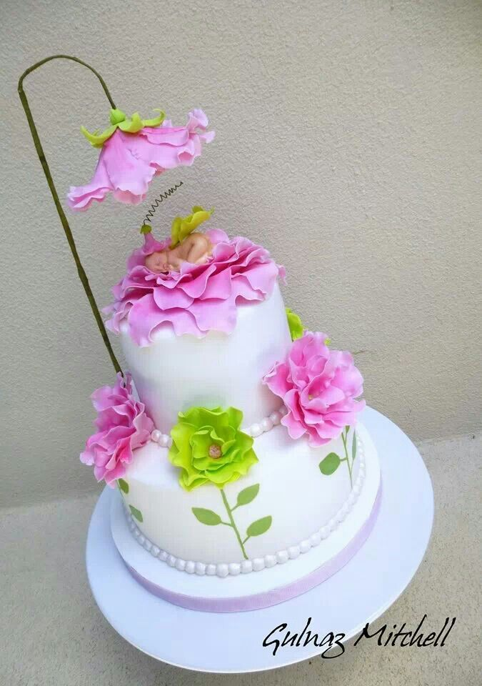 Nevermind that this is for a baby shower, this cake is super cute.