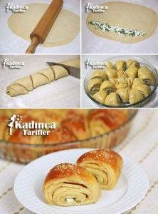 Peynirli Bulgar Ekmeği Tarifi
