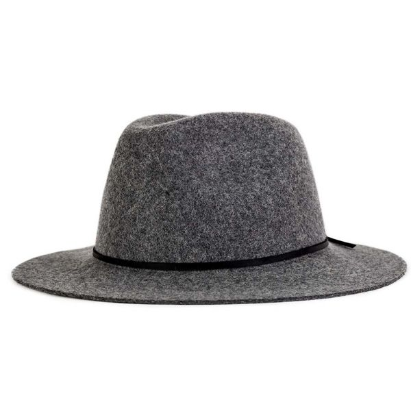 Chapeau Feutre Brixton Wesley Fedora Gris #soldes2016 #bonplan #mode sur votre E-shop Hatshowroom.com #startup