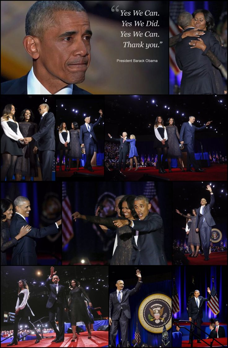 January 10 2017 President Barack Obama 44th