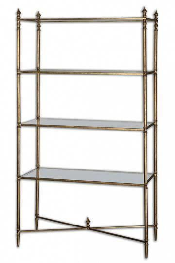 liam bookshelf glass bookcase metal bookcase glass shelves rh pinterest com