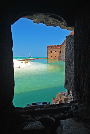 Dry Tortugas National Park - Been here. Beautiful and creepy. I snorkeled all around the island.