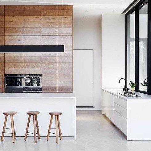 22 besten Küche Bilder auf Pinterest Besteck Speicher, Charme - holz boden und decke modern interieur