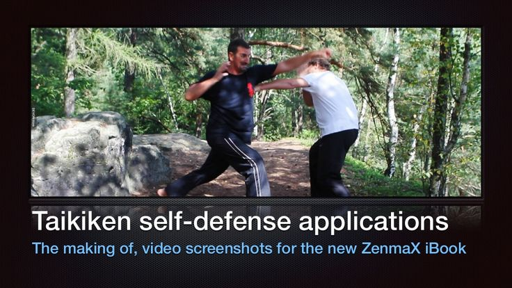 Taikiken self-defence applications  by Ron Nansink via slideshare