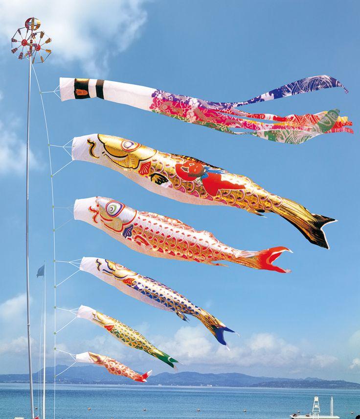 61 best diy koinobori images on pinterest carp common for Japanese fish flag