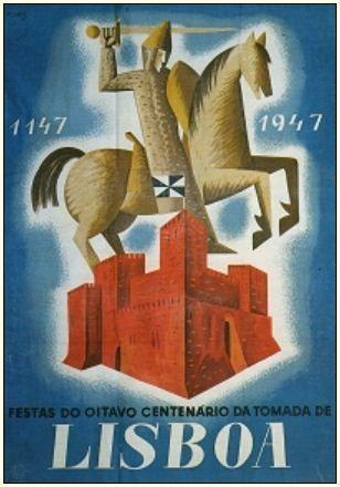 VIII Centenário da Tomada de Lisboa aos Mouros, 1947