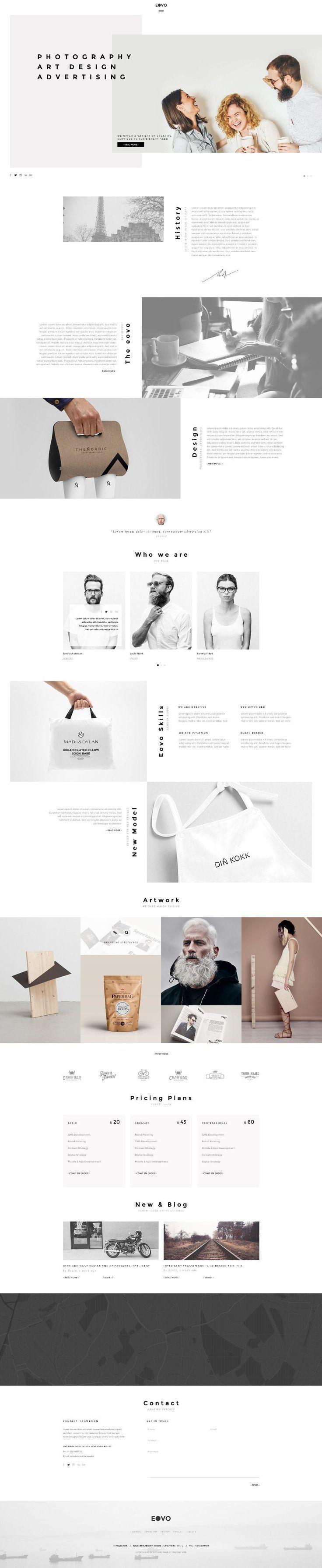 Eovo Web Design Inspiration More
