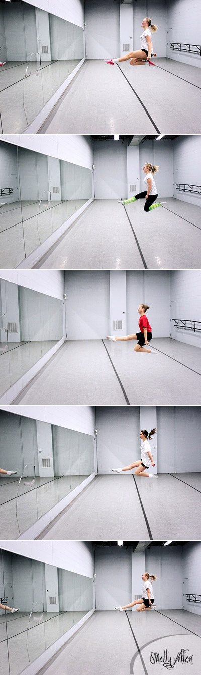 how to improve dance leaps