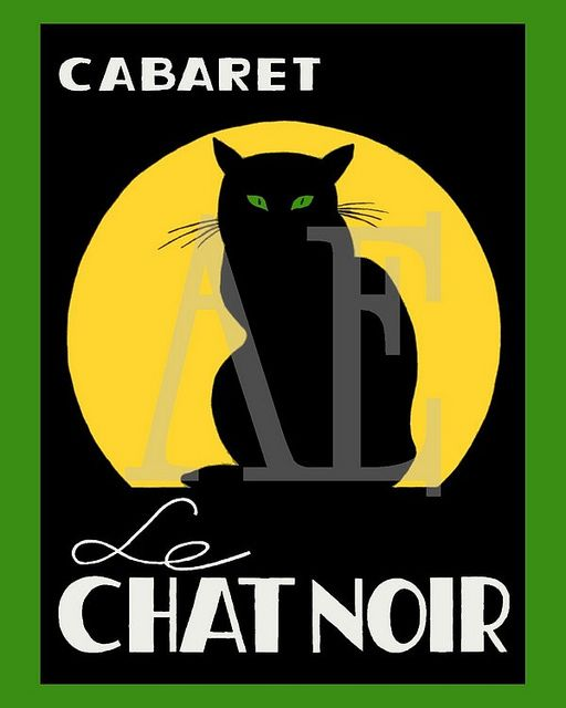 21 Best Images About Le Chat Noir On Pinterest French
