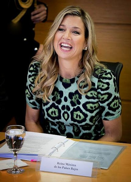 Queen Maxima visits the UNDP office in Buenos Aires