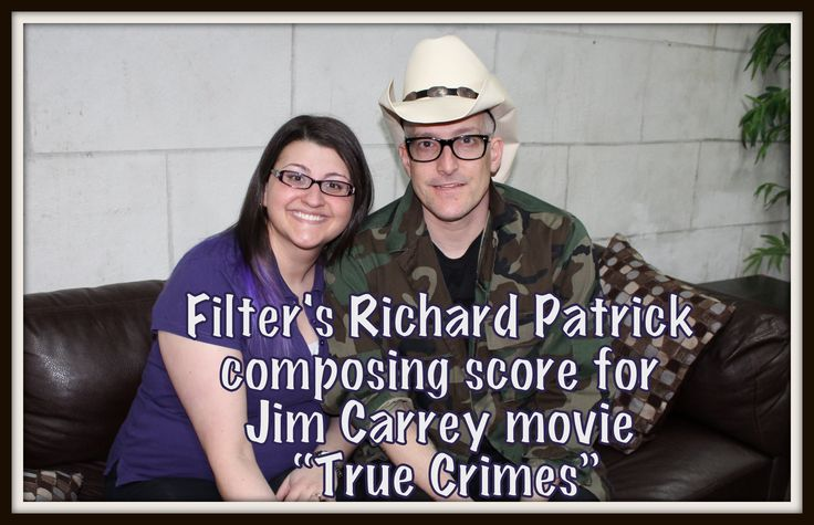 "Filter's Richard Patrick composing score for Jim Carrey movie ""True Crimes"""