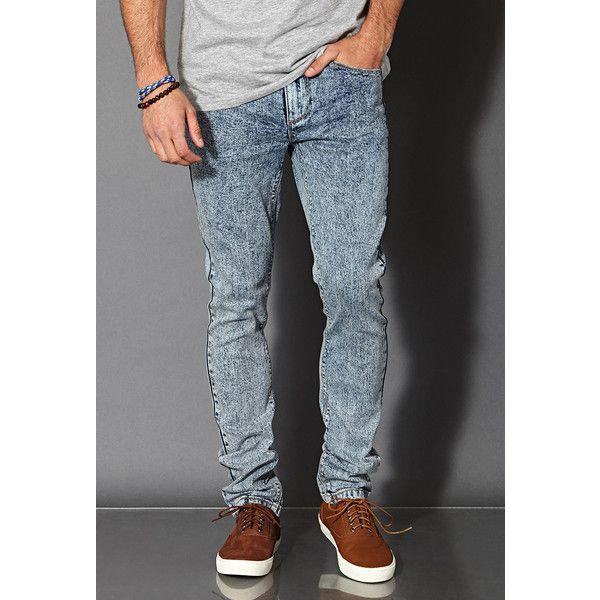 Die besten 25  Acid wash jeans men Ideen auf Pinterest   Männer ...