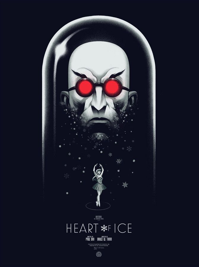 Heart of Ice (Variant) by Phantom City Creative