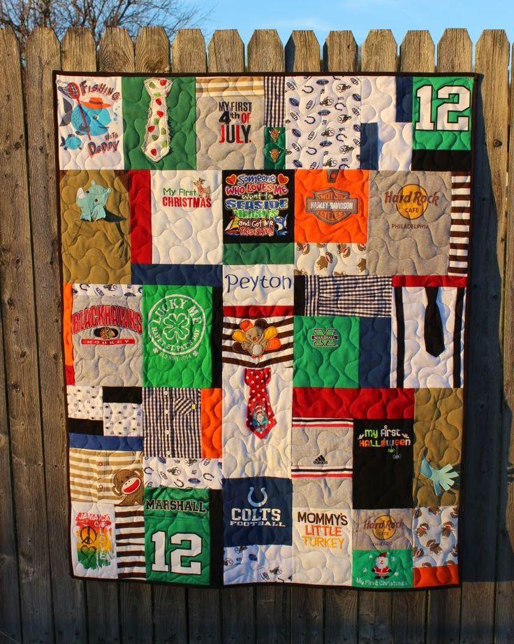 Katie's Quilts and Crafts: Bridget's Baby Clothes Quilt