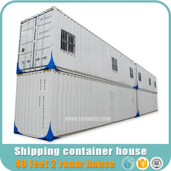www.jjchouses.com 40 container: With standard steel chassis, saving installation time, we have very good price for this 40 feet container house plans