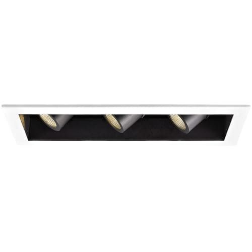 WAC Lighting MT-4LD316N-F930 4 Trim 3000K High Output LED Recessed Light Housing for New Construction - Non-IC Rated