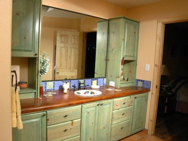 17 best ideas about brown painted cabinets on pinterest kitchen cabinets kitchen ideas and - Painting bathroom cabinets brown ...