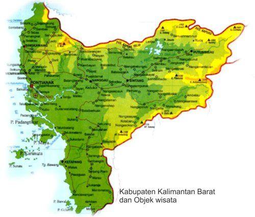 Kabupaten Dan Wisata Alam Di Kalimantan Barat