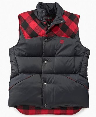 Puffer vest for your little brother: Timberland Kids Vest, Boys Puffer Vest, $69 at Macy's