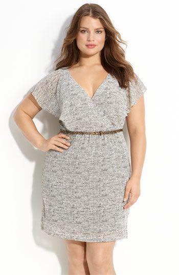 Vestido prata plus size