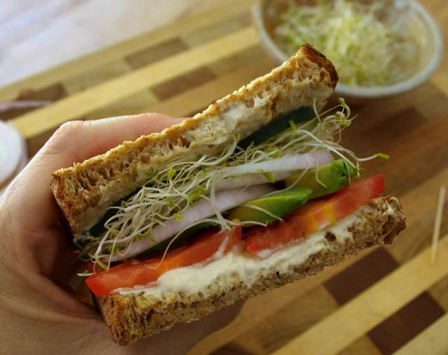 Favorite Summer Sandwich (sometimes I forget meal planning doesn't ...