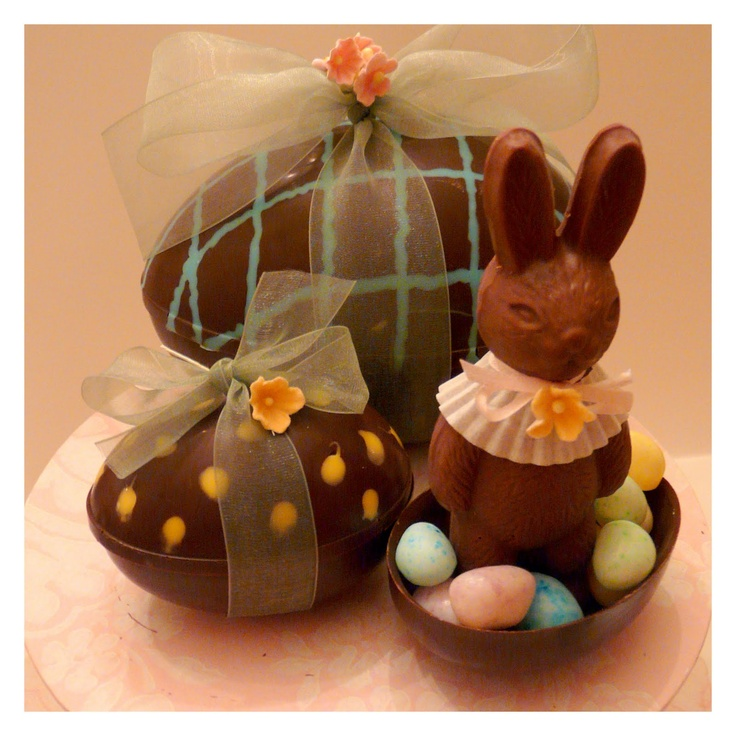 *Recipes, crafts & creative nesting*: Just Hatched -- Make Your Own Chocolate Easter Eggs DIY