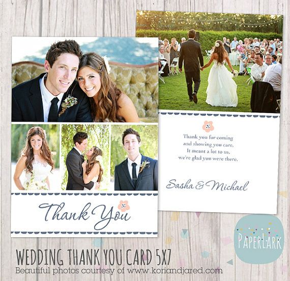 1000 images about wedding thank you templates on pinterest thank you card template flats and. Black Bedroom Furniture Sets. Home Design Ideas